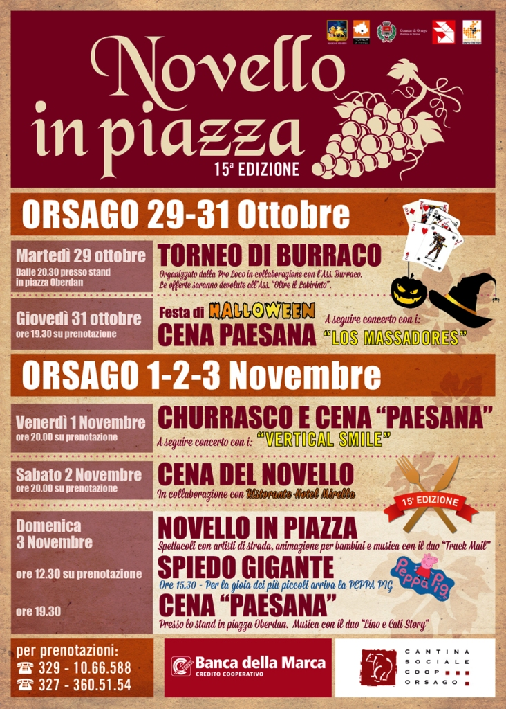 Novello in Piazza - Orsago (TV) (Ottobre 2013)